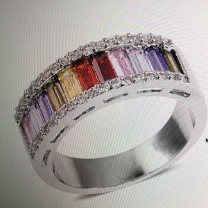 Jewelry - ART DECO STYLE BAND RING